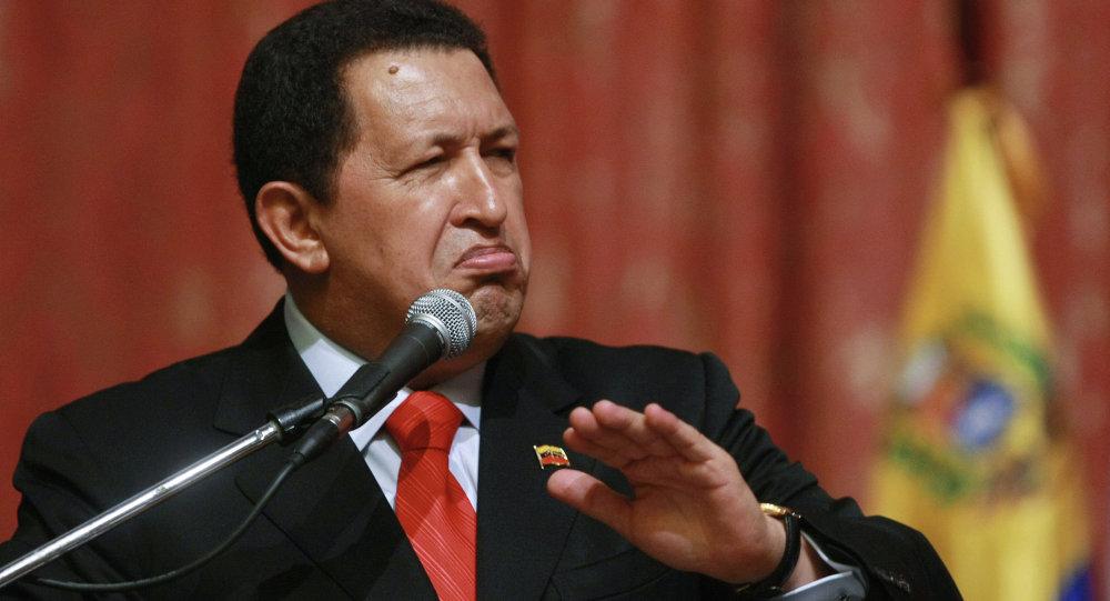 Venezüella Devlet Başkanı Hugo Chavez