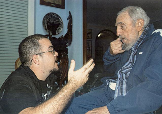 Eski Küba lideri Fidel Castro