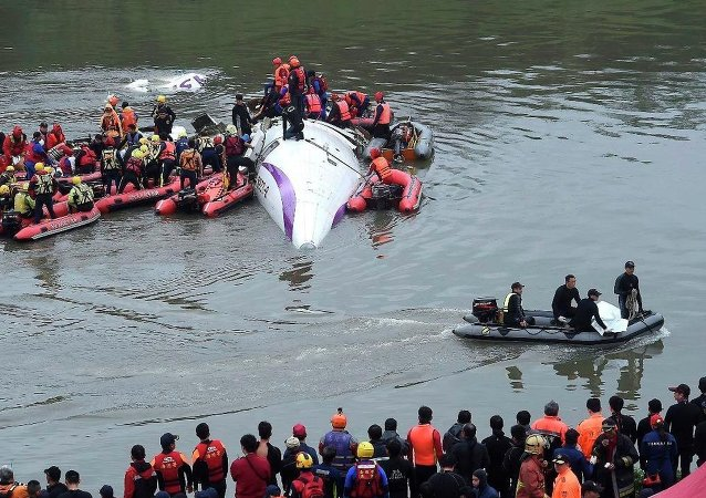 Tayvan'da uçak kazası