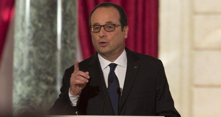Fransa Cumhurbaşkanı Francois Hollande