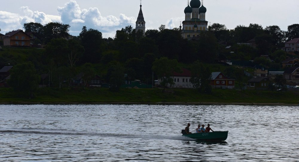 Yaroslavl bölgesi. Volga nehri