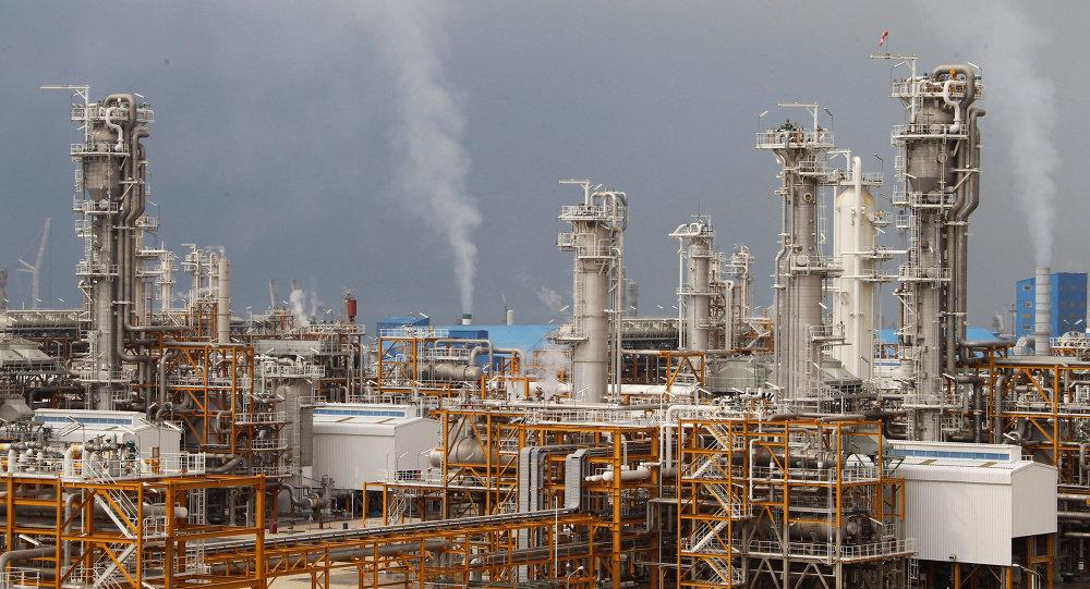 İran'ın Assaluyeh doğalgaz tesisi