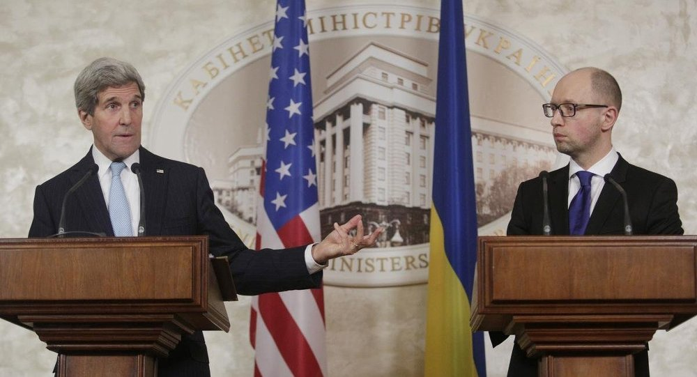 John Kerry - Arseniy Yatsenyuk