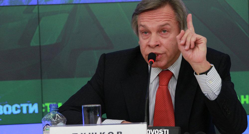 Duma Dış İlişkiler Komitesi Başkanı Aleksey Puşkov