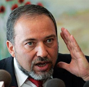 İsrail Dışişleri Bakanı Avigdor Lieberman