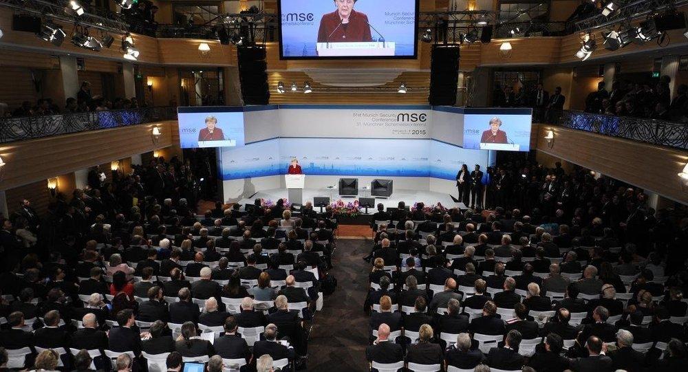 Almanya Başbakanı Angela Merkel 51. Münih Güvenlik Konferansı'nda konuşma yaptı.