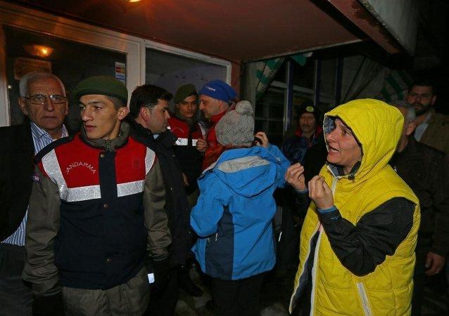 Mahsur kalan dağcılar