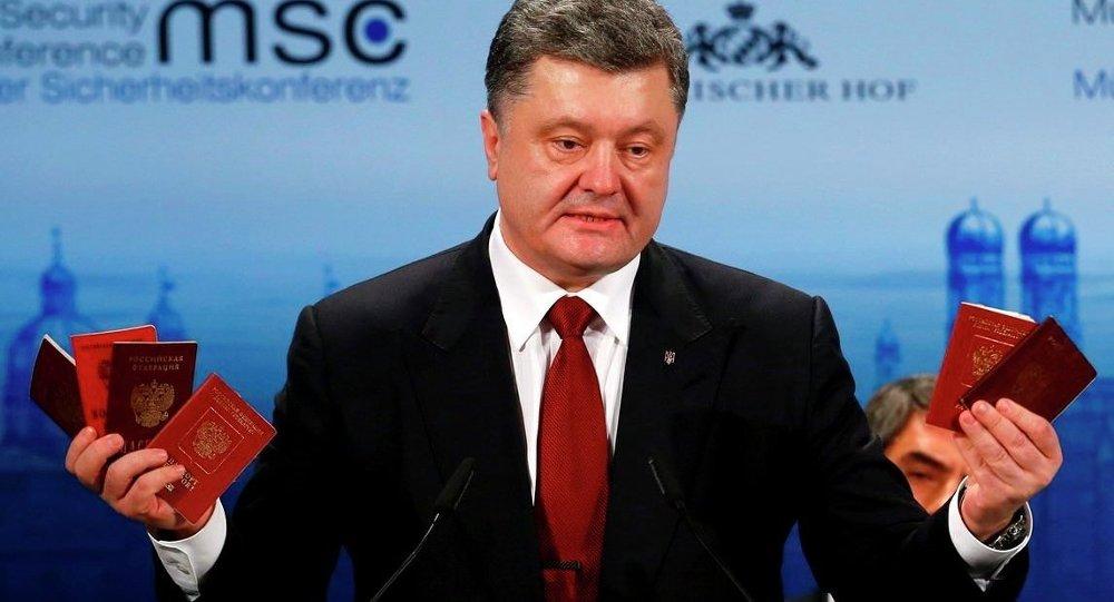 Ukrayna Cumhurbaşkanı Pyotr Poroşenko