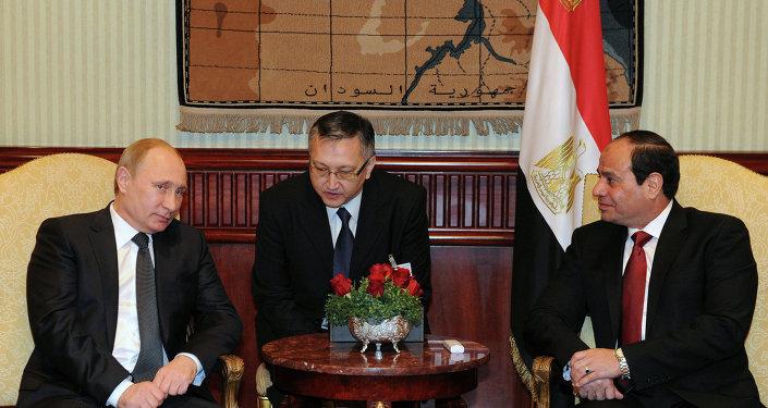 Rusya Devlet Başkanı V. Putin'in Mısır ziyareti
