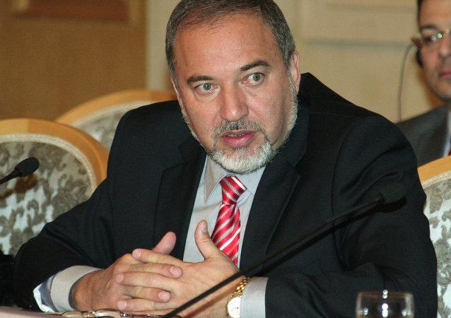 İsrail Dışişleri Bakanı Avigdor Liberman