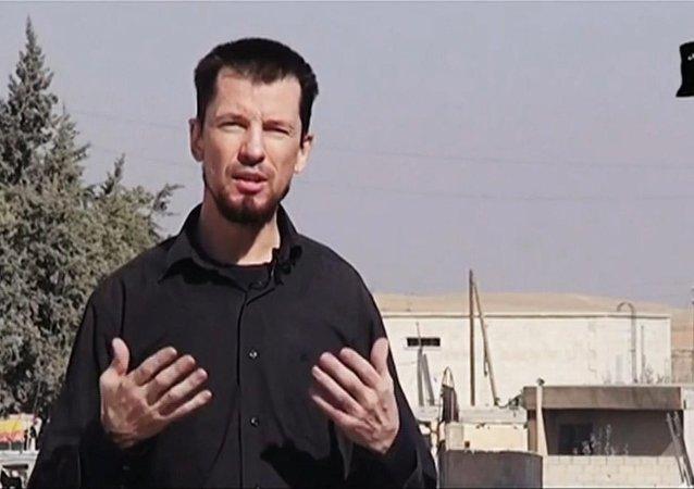 IŞİD'in elindeki İngiliz gazeteci John Cantlie