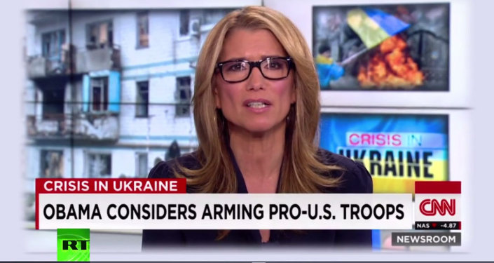 CNN, Ukraynalı askerlere 'ABD yanlısı' dedi
