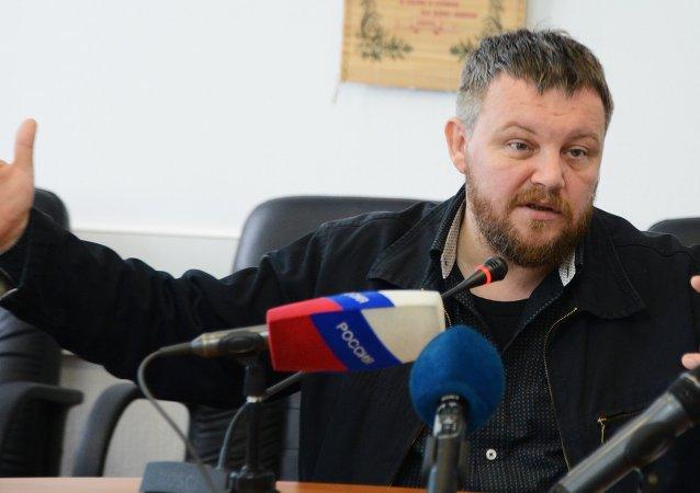 Donetsk Parlamentosu Başkanı Andrey Purgin