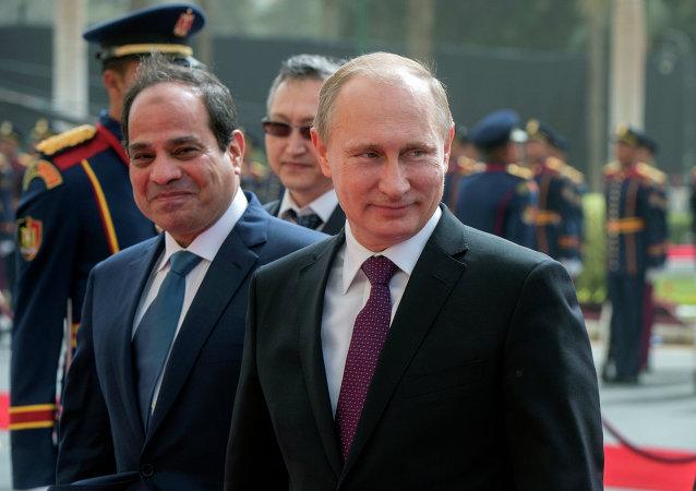 Rusya Devlet Başkanı Putin'in Mısır ziyareti