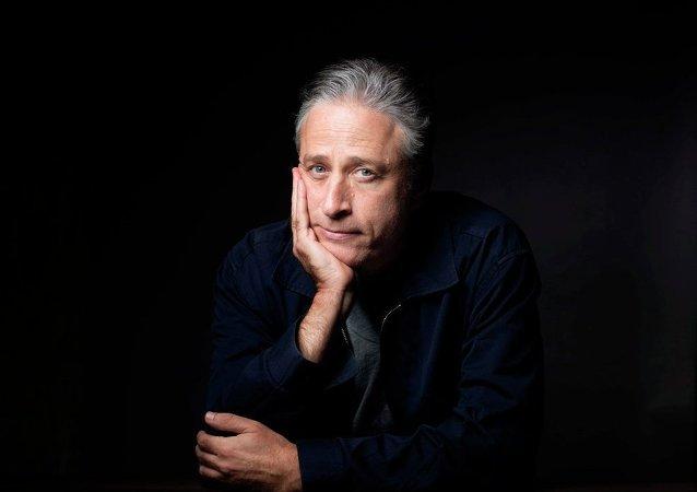 ABD'li sunucu Jon Stewart