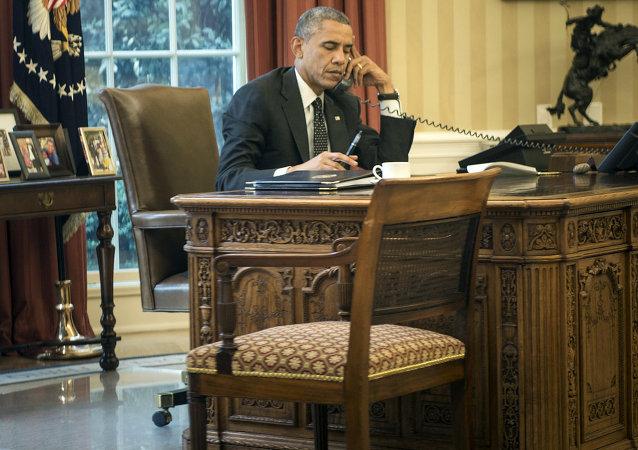 ABD Başkanı Barack Obama telefon