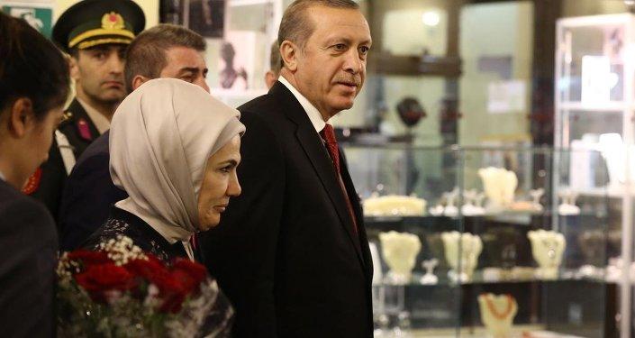 Cumhurbaşkanı Recep Tayyip Erdoğan Küba'da