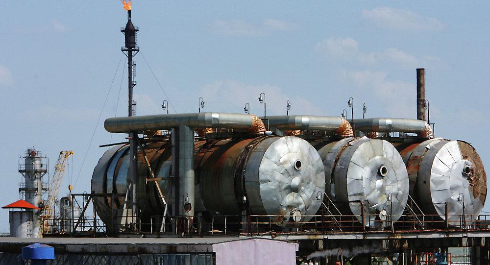 Orenburg'da doğalgaz tesisleri