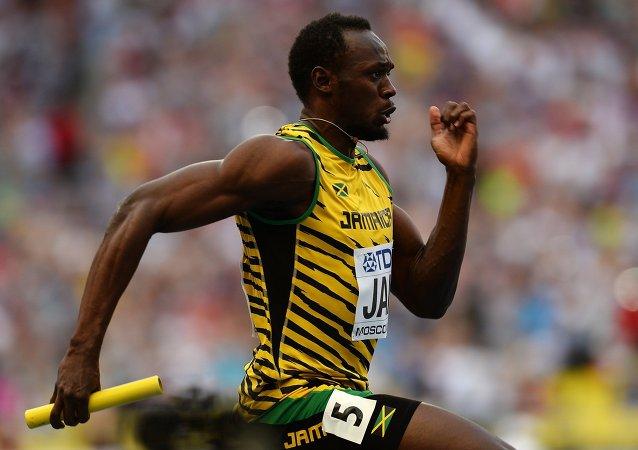 Jamaikalı sprinter Usain Bolt