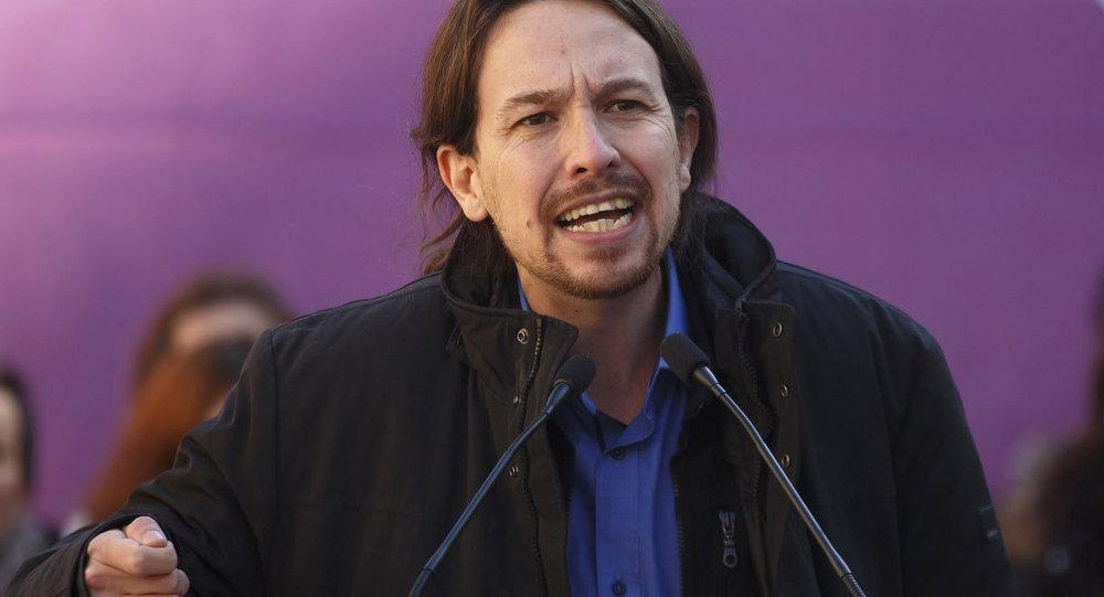 Podemos Partisi lideri Pablo Iglesias