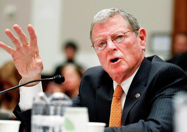 ABD Cumhuriyetçi Senatör James Inhofe - Oklahoma
