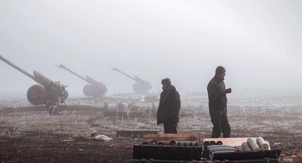 Lugansk, ağır silahların tahliyesine başladı