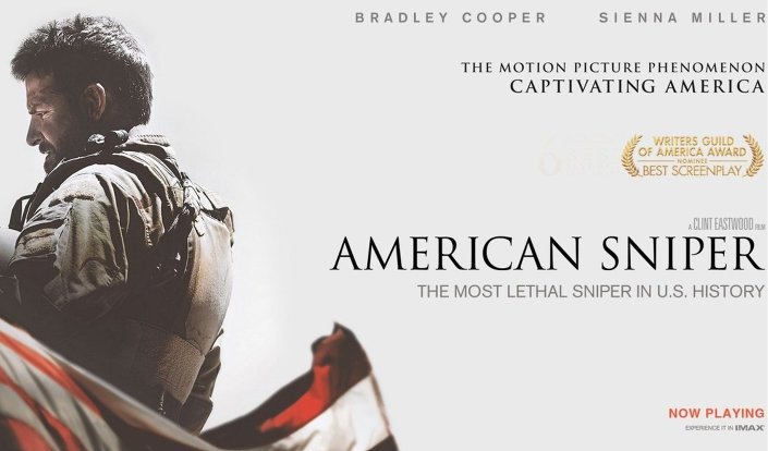 Hamaney'den American Sniper'a eleştiri