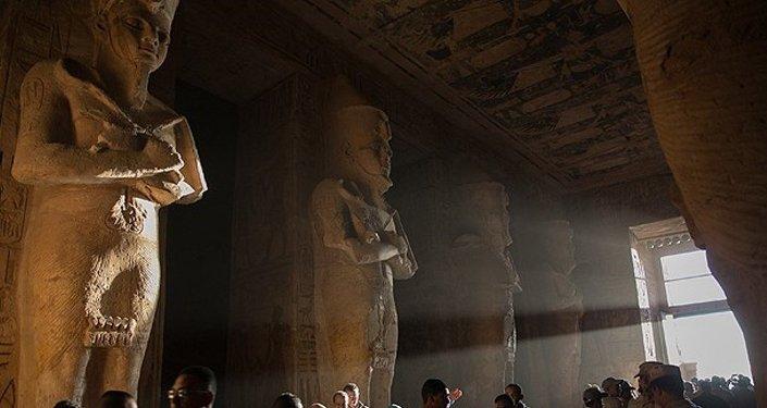 Mısır II. Ramses heykeli