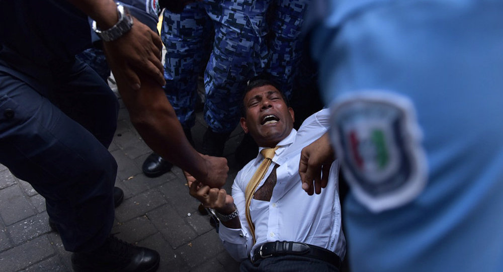 Eski Maldivler Devlet Başkanı Muhammed Naşid