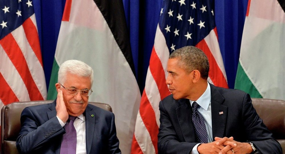 ABD Başkanı Barack Obama - Filistin lideri Mahmud Abbas