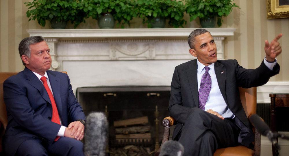 Ürdün Kralı Abdullah- ABD Başkanı Barack Obama