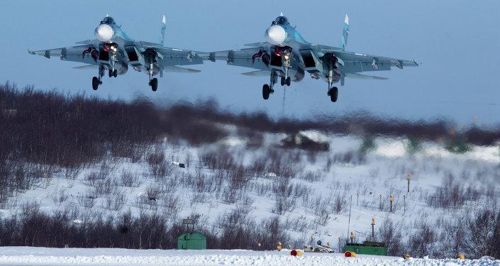 Su-33 savaş uçakları