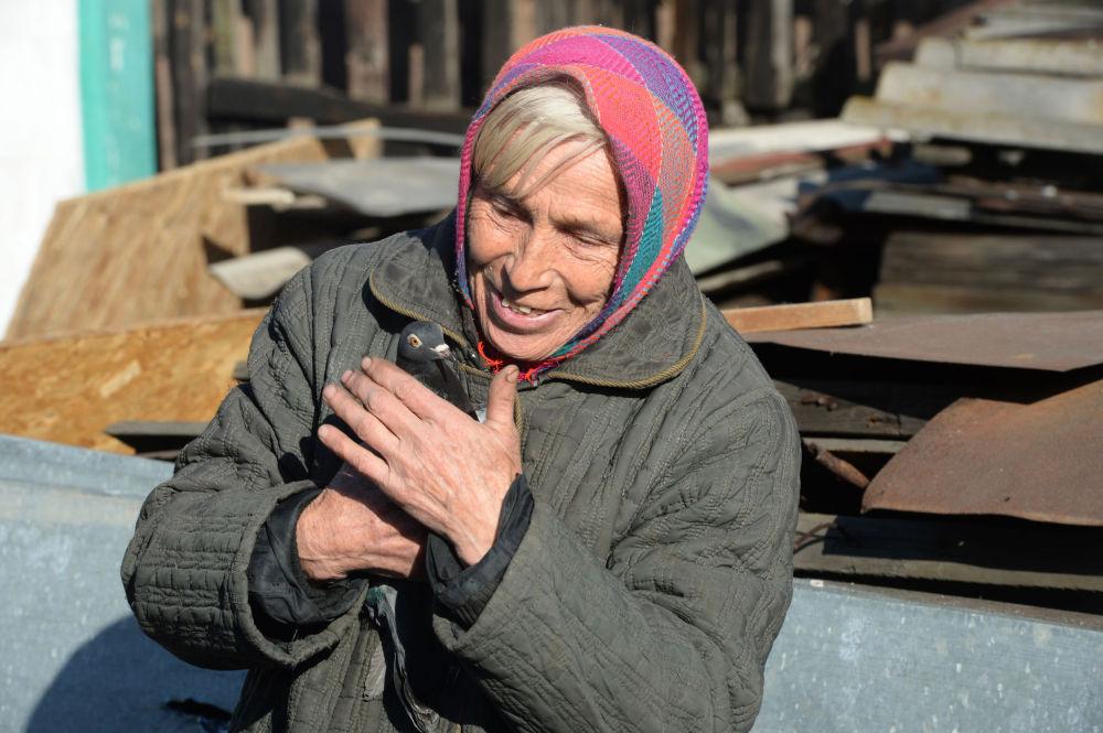 Bir Donetsk sakini