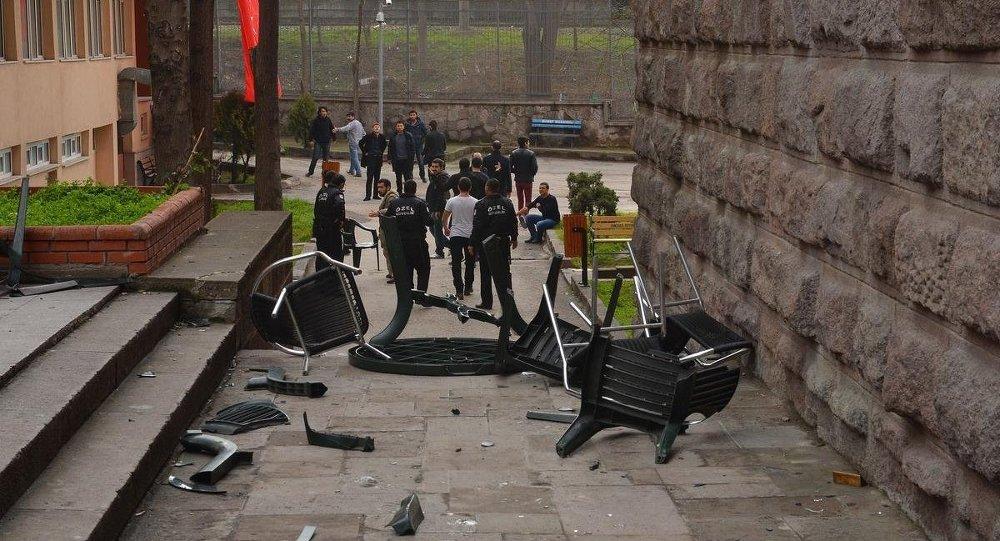 Ankara DTCF'de kavga