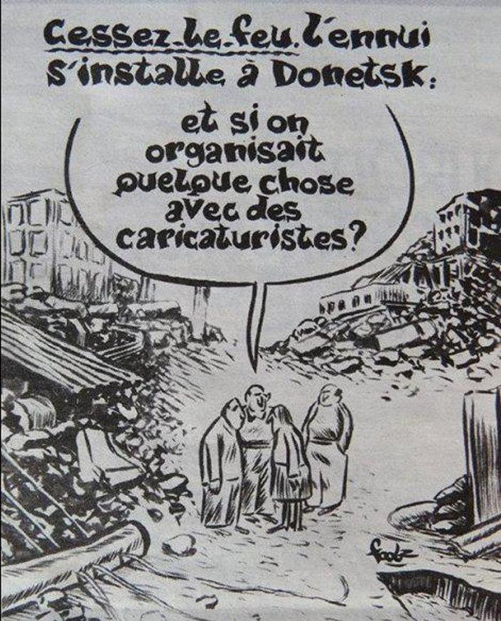 Charlie Hebdo'nın 'Ukrayna karikatürü' Rusya'nın tepkisini çekti.