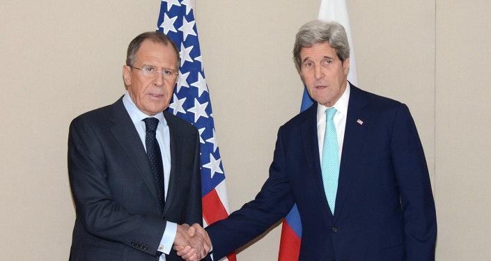 ABD Dışişleri Bakanı John Kerry - Rusya Dışişleri Bakanı Sergey Lavrov