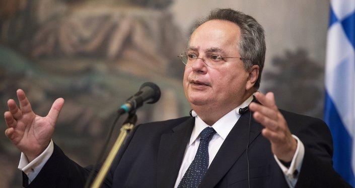 Yunanistan Dışişleri Bakanı Nikos Kotzias