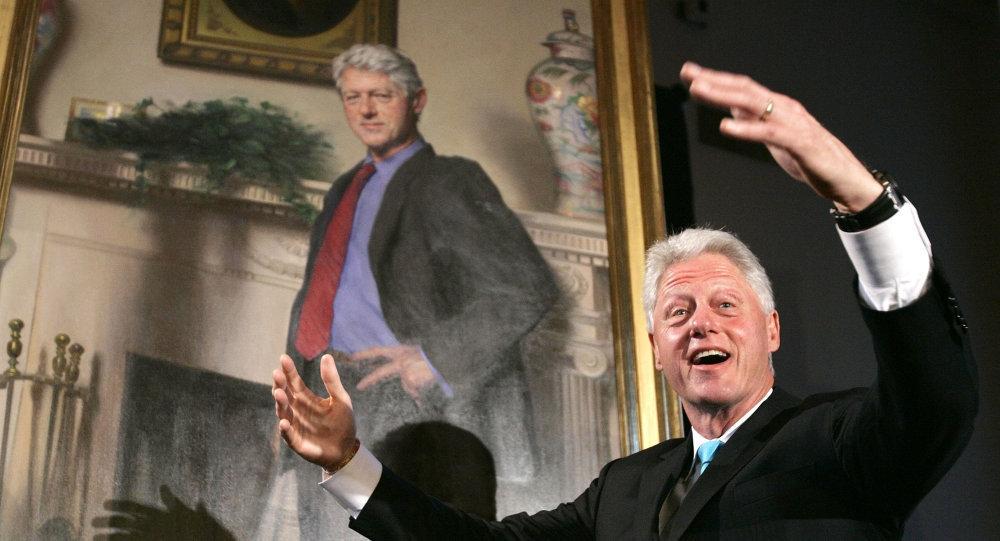 Eski ABD Başkanı Bill Clinton