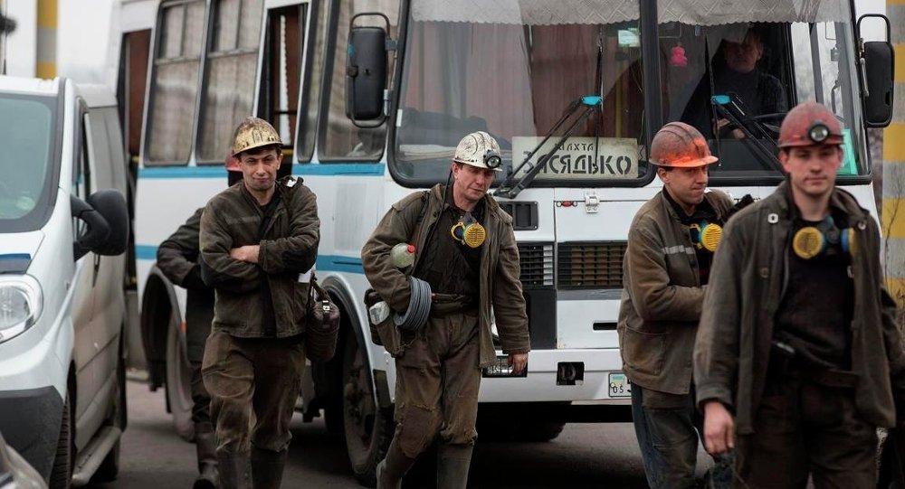 Zasyadko kömür madeninde patlama