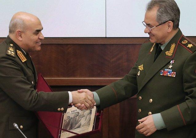 Sergey Şoygu & Sedki Sobhi Said Ahmed