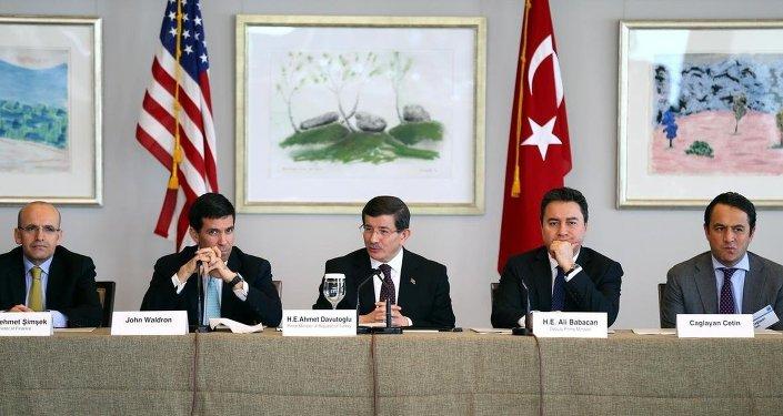 ürkiye Başbakanı Ahmet Davutoğlu
