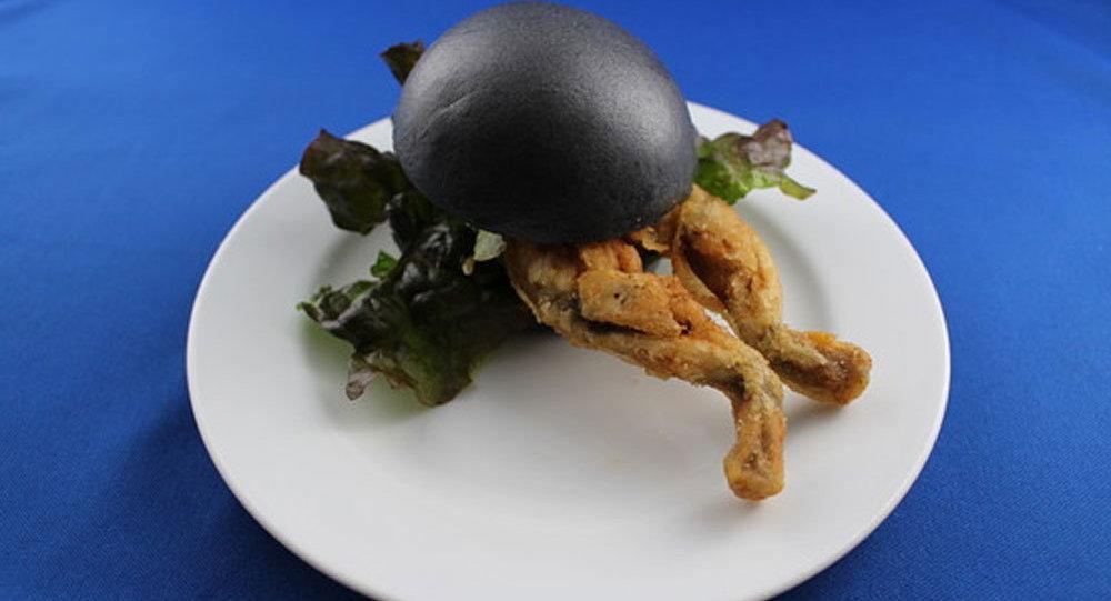 Kurbağalı hamburger