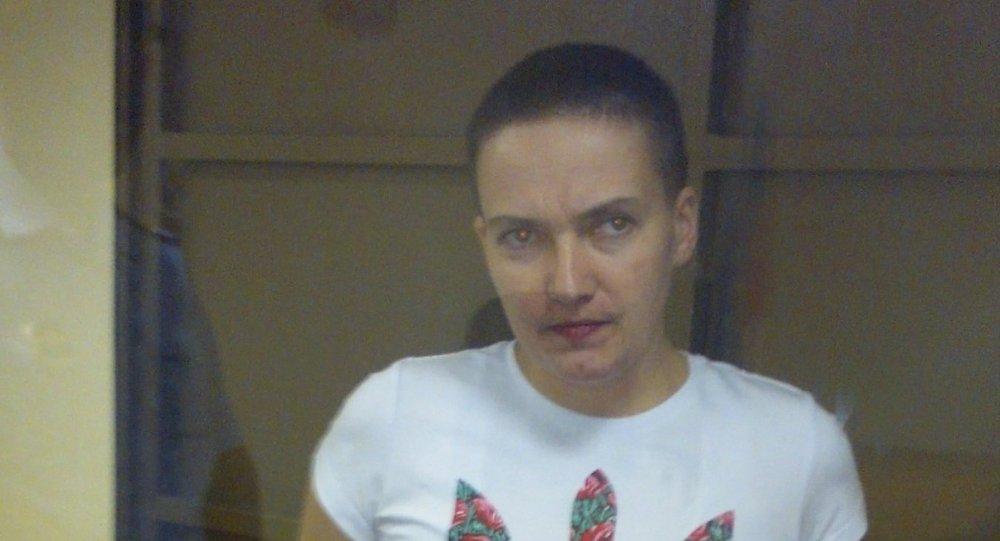 Ukraynalı kadın pilot ve milletvkili Nadejda Savçenko