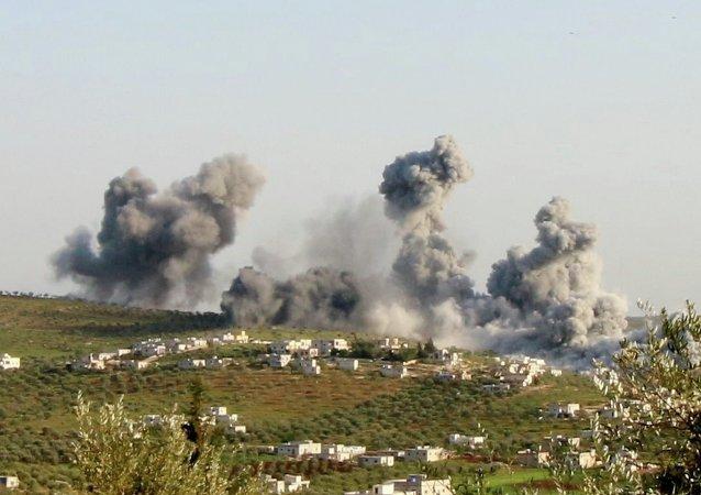 Suriye'nin Rakka kenti