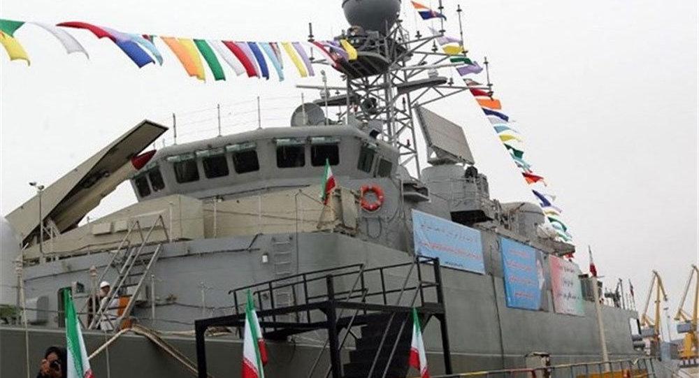 İran'ın yeni savaş gemisi Demavend