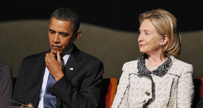 ABD Başkanı Barack Obama - Eski Dışişleri Bakanı Hillary Clinton