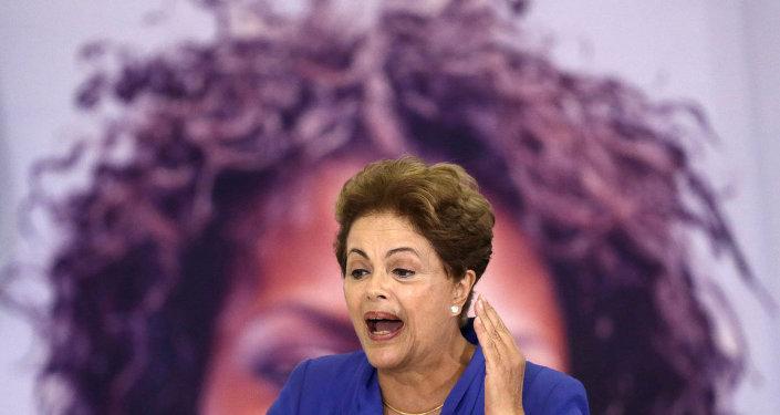 Brezilya Devlet Başkanı Dilma Rousseff