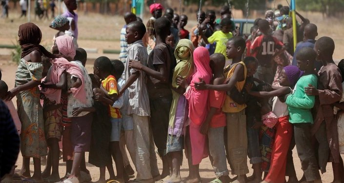 Boko Haram'dan kaçan çocuklar