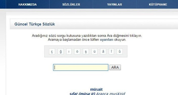 """Türk Dil Kurumu'nun sözlüğünde müsait"""" kelimesinin karşılığına """"Flört etmeye hazır olan, kolayca flört edebilen (kadın)"""" yazılması tepkilere neden olmuştu."""