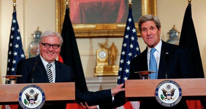 ABD Dışişleri Bakanı John Kerry- Alman mevkidaşı Frank-Walter Steinmeier